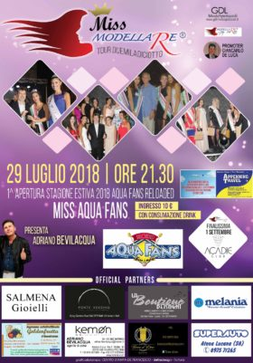 Miss AQUAFANS reloaded - 29 luglio 2018